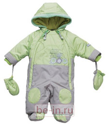 Детский зимний комбинезон с капюшоном, Coccodrillo, магазин RIKKI-TIKKI