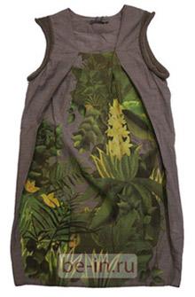 Платье трикотажное с цветным принтом, магазин JNBY