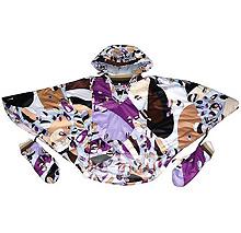 Куртка-пончо утеплённая с капюшоном и варежками, магазин Vertigo
