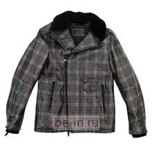 Описание: Зимние кожаные куртки мужские с меховым воротником.