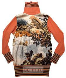 Блузка-джемпер с принтом, Cavalli Class, бутик Four Seasons