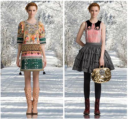 Manoush осень-зима 2009/2010 в бутике Parisienne