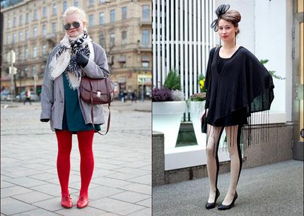 Носки и колготки 2009. Модные тенденции 2009
