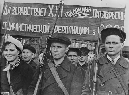 Ussr Day of the October Revolution 1938