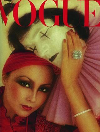 Обложка Vogue. Декабрь 1975