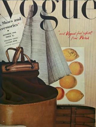 Обложка Vogue. Октябрь, 1944