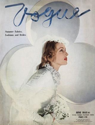 Обложка журнала Vogue. Июнь 1941