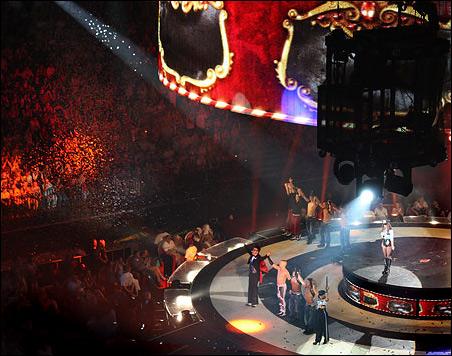Концерт Бритни Спирс в Ледовом дворце. Санкт-Петербург