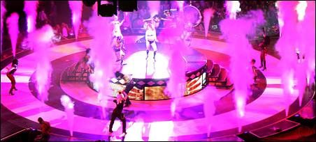 Концерт Бритни Спирс в Ледовом дворце. Санкт-Петербург. Фото