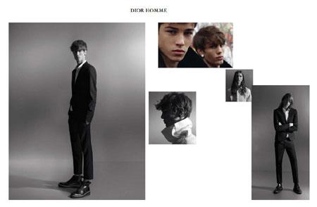 Dior Homme. Весна 2010. Коллекция джинсов для девушек