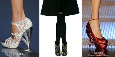 Форма. Обувь весна-лето 2009. Модные тенденции весны и лета 2009