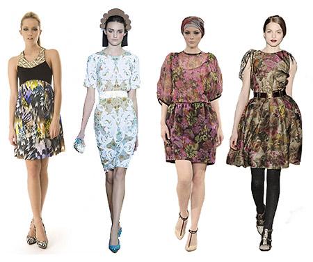Тенденции моды. Модное платье зима 2009 - 2010. Фотографии catwalking.com