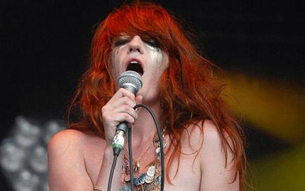 Florence Welch & Topshop
