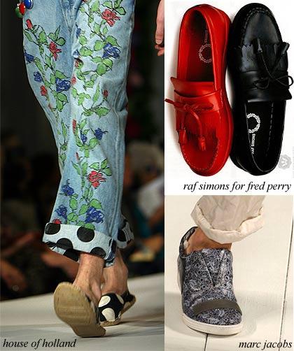 Мужская обувь весны-лета 2009. Весенняя и летняя мода