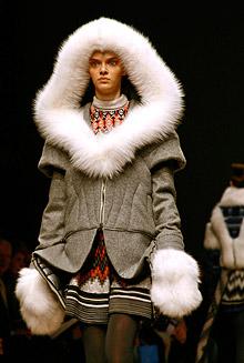 Тенденции моды 2008-2009. Зима. Мех. Мода 2008-2009