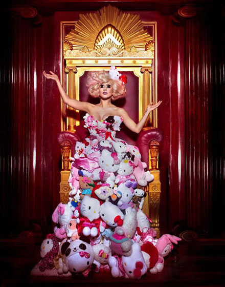 Lady Gaga for Hello Kitty