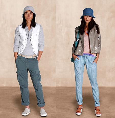 Одежда и джинсы GAP весна-лето 2009. Можно купить в магазинах Москвы уже сегодня