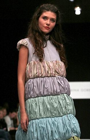 Платье из коллекции Сабины Горелик