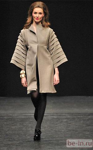 Платье из коллекции Сабины Горелик. Осень-зима 2009