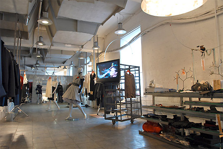 Новости галереи авторской одежды Backstage