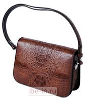 Модная женская сумка из кожи крокодила Quarro 15772, модель: BR-015