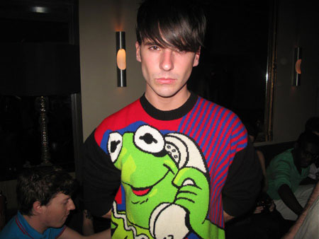 JC de Castelbajac Kermit knit collection