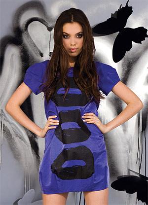 Коллекция одежды Kira Plastinina весна-лето 2009 в магазинах Москвы и Санкт-Петербурга