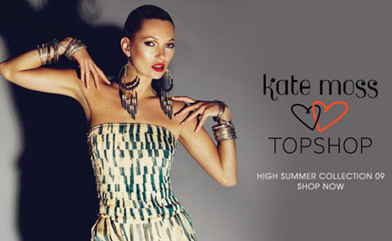 Kate Moss Topshop High Summer 09