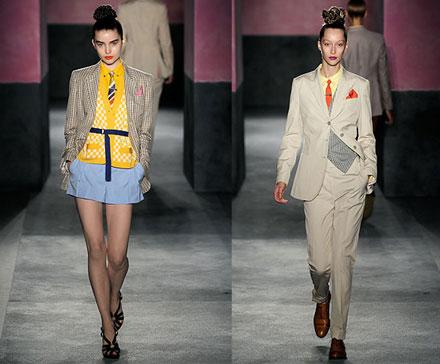 Тенденции моды 2009. Мужские вещи в женском гардеробе