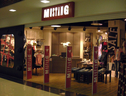 Магазин бренда Mustang