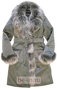 Утепленное пальто Salco