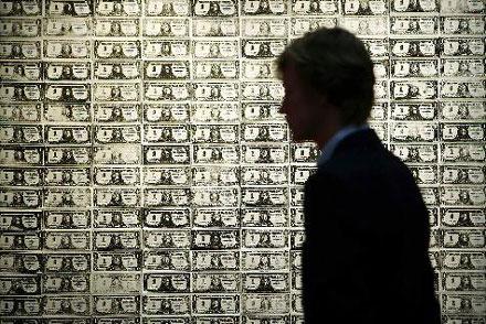 200 one dollar bill by Andy Warhol