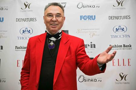 Председатель жюри конкурса ТИССУРА Couture Вячеслав Зайцев