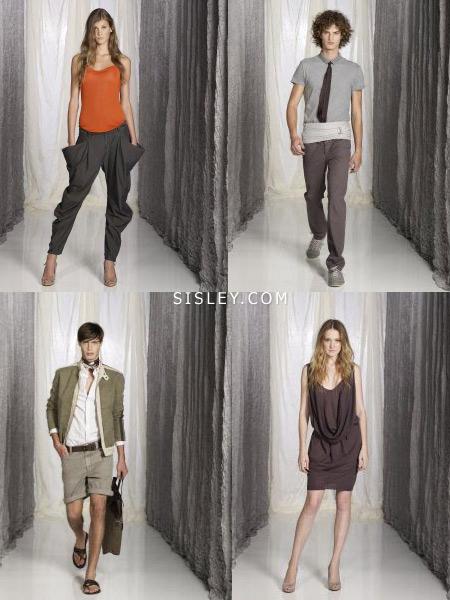 Одежда Sisley весна-лето 2009 скоро поступит в магазины Москвы и Санкт-Петребурга