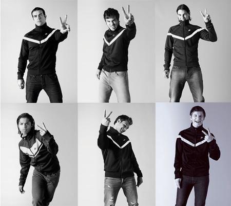 Куртка Eugene Track Jacket из серии Nike Sportswear. Фото Яна Ранкина.