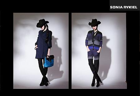 Sonia Rykiel в бутике Sonia Rykiel