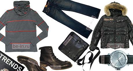 Модная мужская одежда осень-зима 2009/2010 BE-IN в магазинах одежды.