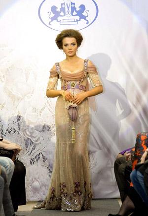 Платье Ирины Меншиковой