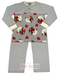 a078f945cfcb7 ... теплая женская пижама 1401 Пижамы Для женщин Магазин Vkrovate.ru Ин.  Читай полностью. Футужама - интернет ...