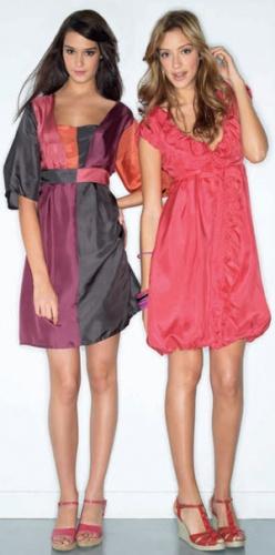 Комментарий: модные модели летних платьев 2011 года.