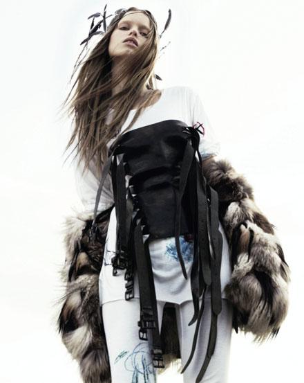 Тенденции моды 2009: новая война. Модная одежда 2010