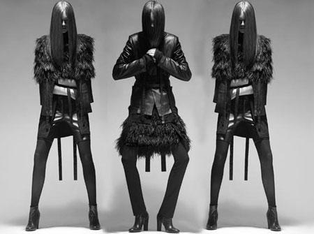 Тенденции моды осень-зима 2010: новая война. Одежда Rad Hourani