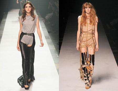 Тенденции моды осень-зима 2009-2010: новая война. Одежда Maison Martin Margiela