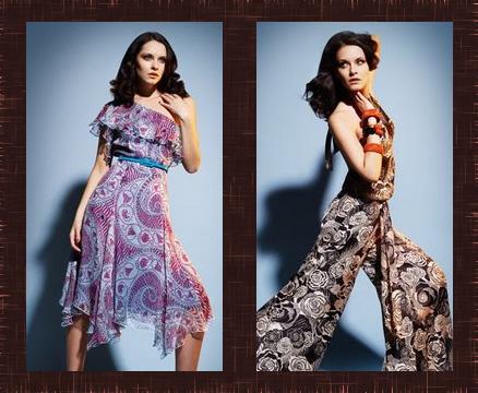 Зандра Роудс (Zandra Rhodes) для Marks&Spencer. Коллекция женской одежды лето 2009