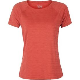 Футболка красная меланжевая  Mountain Hardwear