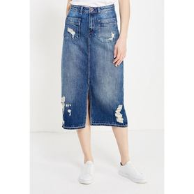 Юбка джинсовая Tommy Hilfiger Denim Tommy Hilfiger Denim