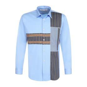 Хлопковая рубашка с контрастной отделкой Comme des Garcons Comme des Garcons