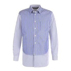 Хлопковая рубашка свободного кроя с отделкой Comme des Garcons Comme des Garcons