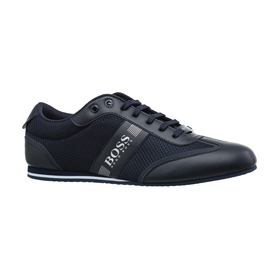 Кеды Lighter Low Profile Sneakers in Mix Materials Hugo Boss