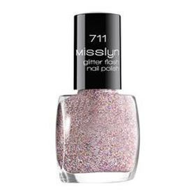 MISSLYN Верхнее покрытие glitter flash nail lacquer № 711 Misslyn